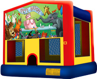 Birthday Animals Bouncer Rental