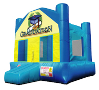 Graduation Theme Bouncer Rental